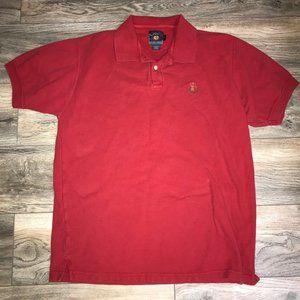Men's Red CHAPS Ralph Lauren Polo Shirt (Size L)